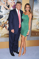 Donald Trump and Melania Trump at the premiere of 'Sex and the City 2' at Radio City Music Hall in New York City. May 24, 2010.. Credit: Dennis Van Tine/MediaPunch