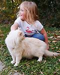 20101008 Ragdoll Cat on Leash