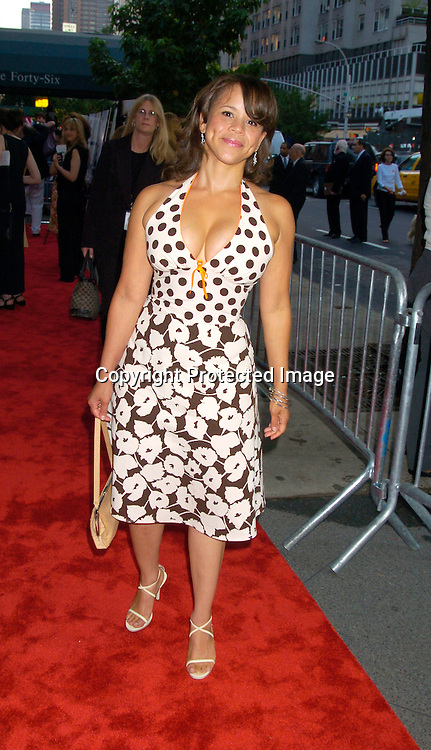 "Rosie Perez..at the World Premiere of ""The Manchurian Candidate"" ..on July 19, 2004 at the Clearview Cinema's Beekman ..Theatre. Photo by Robin Platzer, Twin Images"