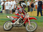 Motocross, MX2 WM 2004, Weltmeisterschaft, Grand Prix of Europe, Gaildorf (Germany) Kristof Salaets (BEL), Honda