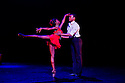 """London, UK. 29/02/2012. Ballet Back presents """"Storyville"""", choreographed by Christopher Hampson, as part of """"The Ballet Black Mixed Bill featuring Storyville"""". Picture shows: Cira Robinson (as Nola) and Damien Johnson (as the Lover). Photo credit: Jane Hobson"""