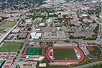 aerial photograph University of  Louisville, Kentucky