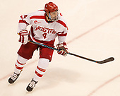 Brandon Hickey (BU - 4) The Boston University Terriers defeated the visiting Yale University Bulldogs 5-2 on Tuesday, December 13, 2016, at the Agganis Arena in Boston, Massachusetts.