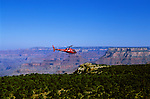 AZ, Arizona, Helicopter sightseeing over Grand Canyon National Park, Arizona.Photo Copyright: Lee Foster, lee@fostertravel.com, www.fostertravel.com, (510) 549-2202.azgran220