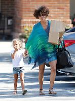 Halle Berry & daughter Nahia in Malibu - Exclusive photos