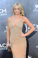LAS VEGAS, NV, USA - APRIL 06: Miranda Lambert at the 49th Annual Academy Of Country Music Awards held at the MGM Grand Garden Arena on April 6, 2014 in Las Vegas, Nevada, United States. (Photo by Celebrity Monitor)