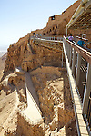 Masada Cable Car Enterence