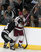 Jacob Bryson (PC - 18), Sean Malone (Harvard - 17) - The Harvard University Crimson defeated the Providence College Friars 3-0 in their NCAA East regional semi-final on Friday, March 24, 2017, at Dunkin' Donuts Center in Providence, Rhode Island.