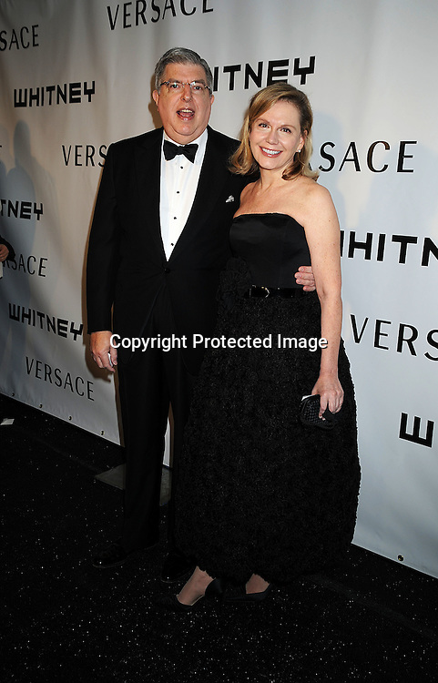 Marvin Hamlisch and wife Terri Blair.arriving at The Whitney Museum of American Art's Gala on October 20, 2008 at The Whitney Museum in New York City. ..Robin Platzer, Twin Images