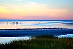 Sunset on First Encounter Beach, Eastham, Cape Cod, MA, USA