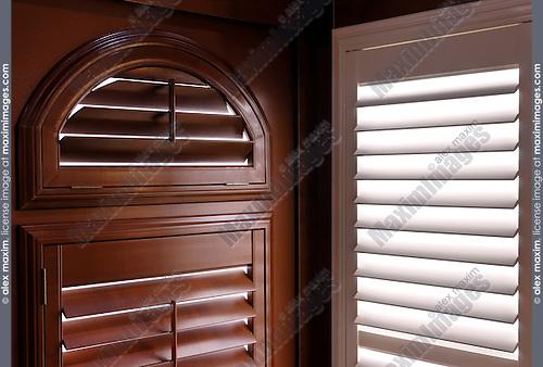 Contemporary window shutters