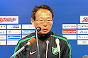 Takeshi Okada (Greentown),.FEBRUARY 25, 2012 - Football / Soccer :.Hangzhou Greentown FC head coach Takeshi Okada during the press conference after a pre-season match between Omiya Ardija and Hangzhou Greentown FC at NACK5 Stadium Omiya in Saitama, Japan. Okada is a former Japan national team coach.