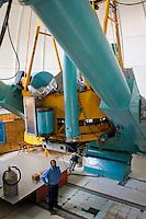 San Pedro Martír, UNAM observatory near Ensenada, Mexico. July 7, 2006