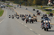 Veterans Day motorcycle parade 11/5/2016