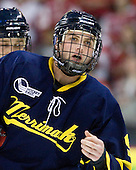 Carter Madsen (Merrimack - 9) - The visiting Merrimack College Warriors tied the Boston University Terriers 1-1 on Friday, November 12, 2010, at Agganis Arena in Boston, Massachusetts.