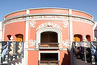 The Neoclassical style Teatro Angela Peralta theater in Old Mazatlan or Mazatlan Viejo, Sinaloa, Mexico