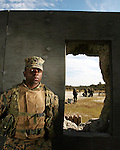 PFC Theophile Tuyishimire of Charlie Company, Infantry Training Battalion at the School of Infantry East during K406 Shooting Marksmanship Training Exercises.1