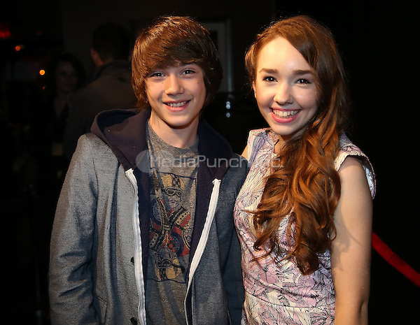 Photo of Keidrich Sellati & his friend actress  Holly Taylor -