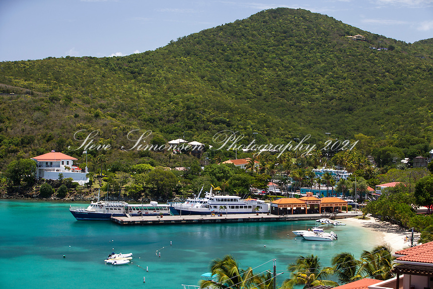Cruz Bay Ferry Dock<br />