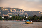 Water Taxi on Lake Geneva, Geneva, Switzerland