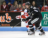 Matt Nieto (BU - 19), Derek Army (PC - 19) - The Boston University Terriers defeated the visiting Providence College Friars 4-2 (EN) on Saturday, December 13, 2012, at Agganis Arena in Boston, Massachusetts.