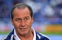 FUSSBALL   1. BUNDESLIGA  SAISON 2012/2013   4. Spieltag FC Schalke 04 - FC Bayern Muenchen      22.09.2012 Trainer Huub Stevens (FC Schalke 04)