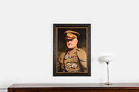 "Anonymous 20th Century: Major general James G. Harbord par Lander, Digital Print, Image Dims. 23.5"" x 35.5"", Framed Dims. 31"" x 43"""