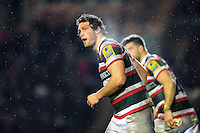 Dom Barrow of Leicester Tigers. Aviva Premiership match, between Leicester Tigers and Exeter Chiefs on March 3, 2017 at Welford Road in Leicester, England. Photo by: Patrick Khachfe / JMP