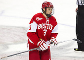 Ahti Oksanen (BU - 3) - The Boston College Eagles defeated the visiting Boston University Terriers 5-2 on Saturday, December 1, 2012, at Kelley Rink in Conte Forum in Chestnut Hill, Massachusetts.