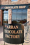 Arran Chocolate Factory Shop, Isle of Arran, Scotland