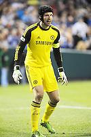 Petr Cech Chelsea goalkeeper..Manchester City defeated Chelsea 4-3 in an international friendly at Busch Stadium, St Louis, Missouri.