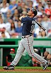 12 April 2008: Atlanta Braves' outfielder Mark Kotsay in action against the Washington Nationals at Nationals Park, in Washington, DC. The Braves defeated the Nationals 10-2...Mandatory Photo Credit: Ed Wolfstein Photo