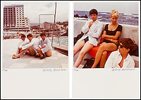 BNPS.co.uk (01202 558833)<br /> Pic: HeritageAuctions/BNPS<br /> <br /> ***Please Use Full Byline***<br /> <br /> Poignant colour photos of three of the four Beatles on a holiday in Tenerife on the eve of their international stardom have emerged for sale.<br /> <br /> Paul, George and Ringo were holidaying in Tenerife with german friend Astrid Kirchherr - who's fiancee Stuart Sutcliffe had tragically died a year before in Hamburg.<br /> <br /> Talented art student Sutcliffe had been a member of the band whilst in Hamburg, before becoming engaged to Astrid and leaving the group to further his art studies.<br /> <br /> Sutcliffes close friend John Lennon was holidaying with manager Brian Epstein at the time, so it was left to the three remaining Beatles to console Kirchherr on the anniversary of Sutcliffes death.<br /> <br /> Heritage auctions - Dec 5th - &pound;6000