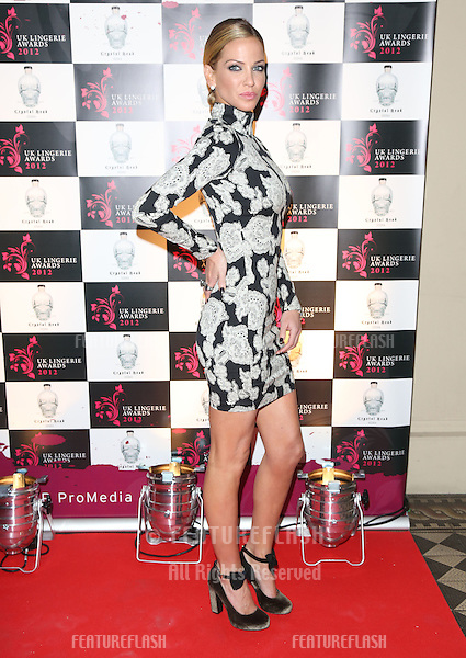 Sarah Harding arriving for The UK Lingerie Awards 2012.London. 19/09/2012 Picture by: Henry Harris / Featureflash
