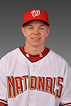 14 March 2008: ..Portrait of Kai Tuomi, Washington Nationals Minor League player at Spring Training Camp 2008..Mandatory Photo Credit: Ed Wolfstein Photo