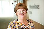 Lynne Holliman, BSN, RN, CCRN, Clinical Nurse III, Internal Staffing Resource Pool, Duke University Health System. Photographed at Duke Medicine Pavilion's Neurosciences.
