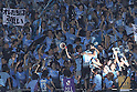 Juninho (Frontale), JULY 16th, 2011 - Football : Juninho 10 of Kawasaki Frontale celebrates with fans in the stands after scoring his team's third goal from the penalty spot during the 2011 J.League Division 1 match between between Kawasaki Frontale 3-2 Kashiwa Reysol at Todoroki Stadium in Kanagawa, Japan. (Photo by Kenzaburo Matsuoka/AFLO)
