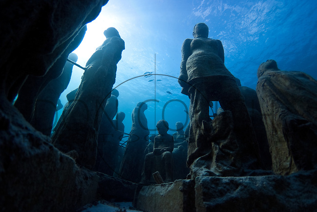 Underwater Sculpture Museum - Cancun