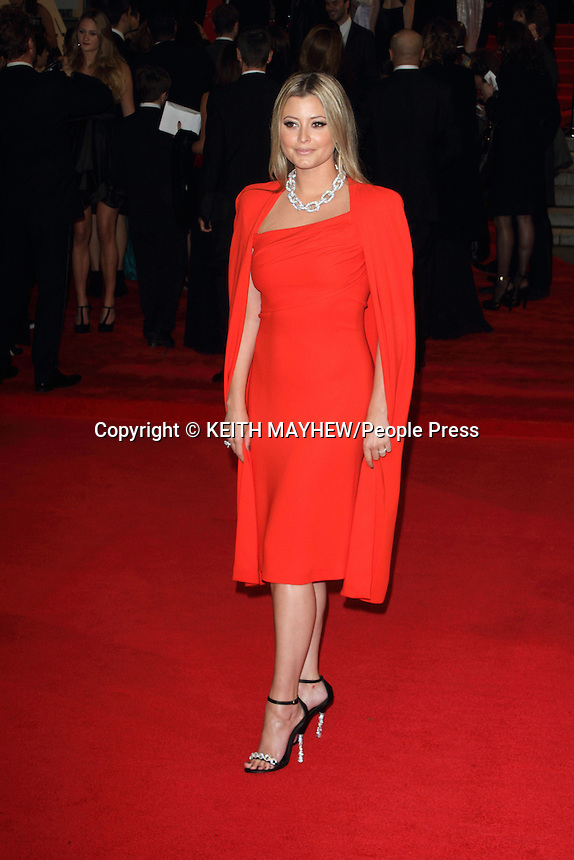 London -  Royal World Premiere of 'Skyfall' at the Royal Albert Hall, Kensington, London - October 23rd 2012..Photo by Keith Mayhew.