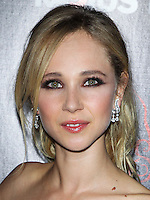 HOLLYWOOD, LOS ANGELES, CA, USA - OCTOBER 30: Juno Temple arrives at the Los Angeles Premiere Of RADiUS-TWC's 'Horns' held at ArcLight Hollywood on October 30, 2014 in Hollywood, Los Angeles, California, United States. (Photo by Celebrity Monitor)