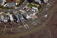 aerial photograph, Novato, Marin County, California