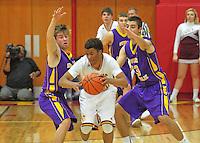 Boys Varsity Basketball vs. Scecina 2-3-15