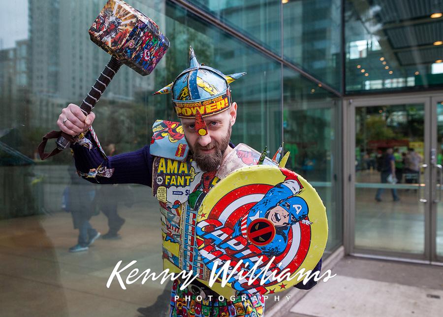 Captain America Cosplay, Emerald City Comicon, Seattle, WA, USA.