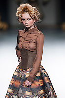 Maya Hansen in Mercedes-Benz Fashion Week Madrid 2013