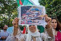 Roma 24 Luglio 2014<br /> Manifestazione in solidariet&agrave; alla resistenza del popolo palestinese e contro l'offensiva militare israeliana nella Striscia di Gaza.<br /> Rome July 24, 2014 <br /> Demonstration in solidarity with the resistance of the Palestinian people,  and against the Israeli military offensive in the Gaza Strip.