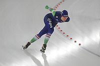SCHAATSEN: BERLIJN: Sportforum Berlin, 05-12-2014, ISU World Cup, Ireen Wüst (NED), ©foto Martin de Jong