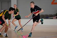 NZ Secondary School Floorball Championships at Walter Nash Centre, Lower Hutt, New Zealand on Friday 31 March 2017.<br /> Photo by Masanori Udagawa<br /> www.photowellington.photoshelter.com.