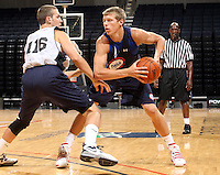 Austin Etherington at the NBPA Top100 camp June 17, 2010 at the John Paul Jones Arena in Charlottesville, VA. Visit www.nbpatop100.blogspot.com for more photos. (Photo © Andrew Shurtleff)
