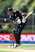 17.02.2015. Dunedin, New Zealand.  Brendon McCullum during the ICC Cricket World Cup match between New Zealand and Scotland at University Oval in Dunedin, New Zealand. Tuesday 17 February 2015.