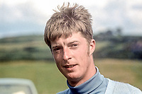 David Young, golfer, amateur, Royal Portrush, Co Antrim, N Ireland, 1977  North of Ireland amateur champion. He later became Club Captain in 1994. Taken - January 1973. 197301000133<br />